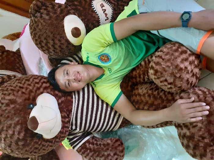 Gấu Teddy 1m8 giá rẻ1