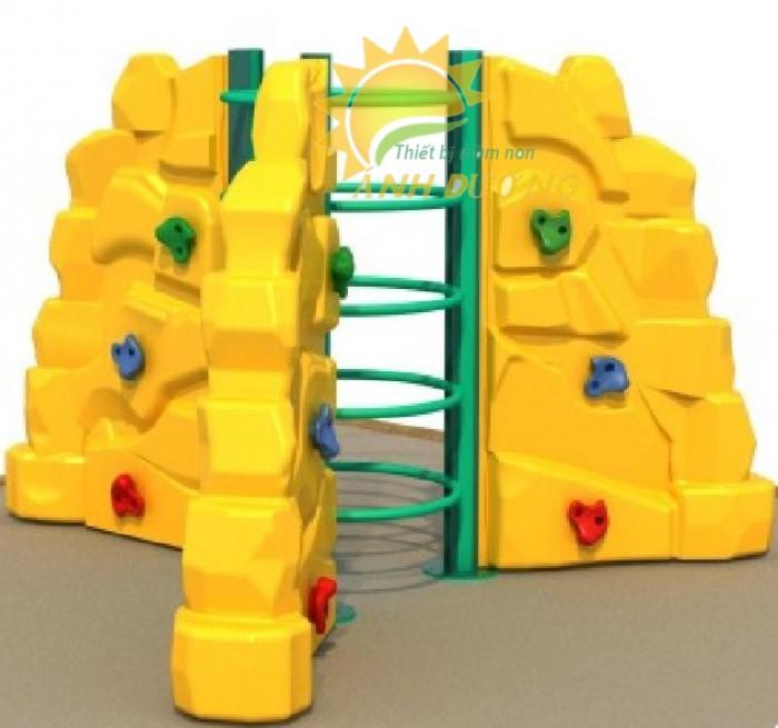 Chuyên bán tường leo núi vận động trẻ em cho trường mầm non, sân chơi, TTTM4