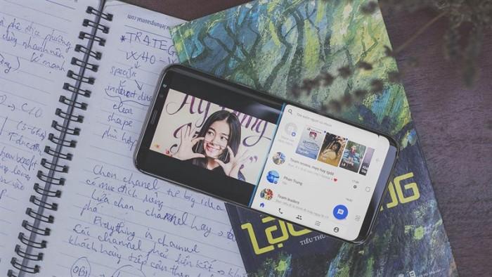 Điện thoại Samsung Galaxy S8 Plus 2 sim5