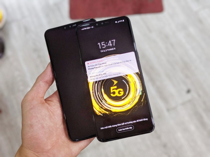 Điện thoại LG V50 ThinQ 5G 128GB | Máy Nguyên Zin 100% - Áp suất còn nguyên3