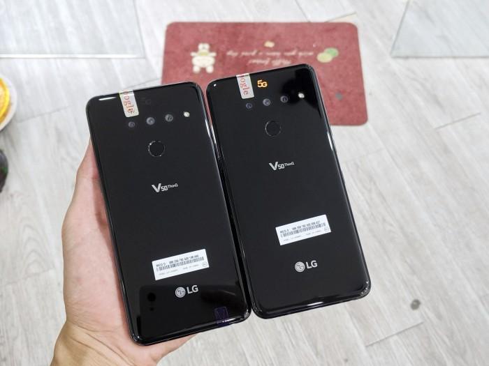 Điện thoại LG V50 ThinQ 5G 128GB | Máy Nguyên Zin 100% - Áp suất còn nguyên0