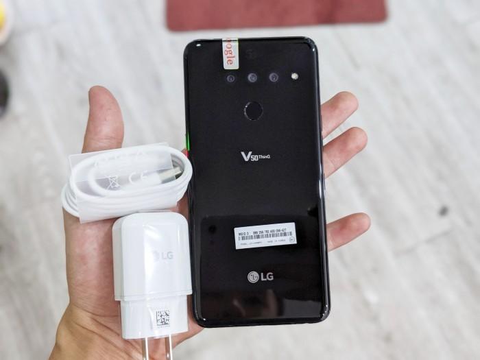 Điện thoại LG V50 ThinQ 5G 128GB | Máy Nguyên Zin 100% - Áp suất còn nguyên2