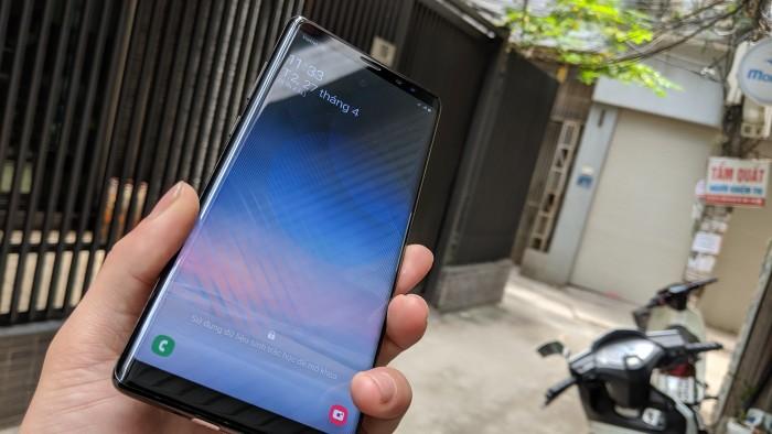 Điện thoại Samsung Galaxy Note 8 SSVN 2 sim - Chip exynos3