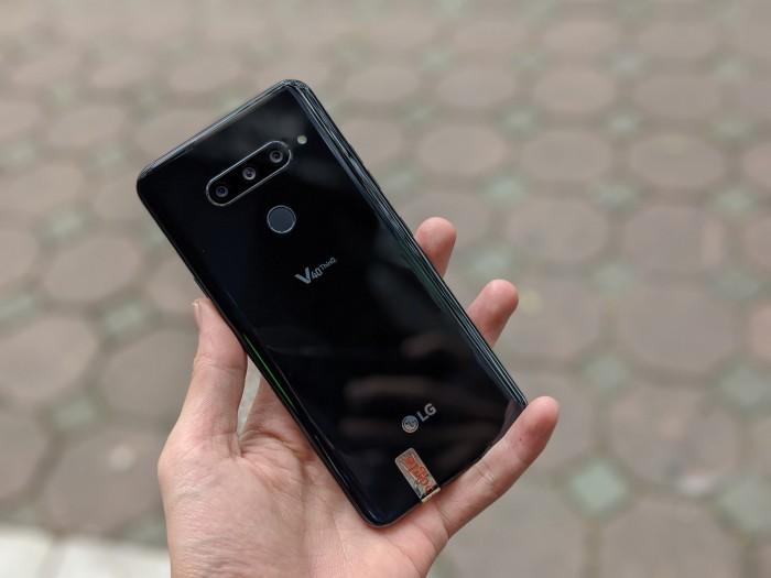 Điện thoại LG V40 ThinQ 64GB | Cấu hình mạnh - Tặng kèm đủ phụ kiện0