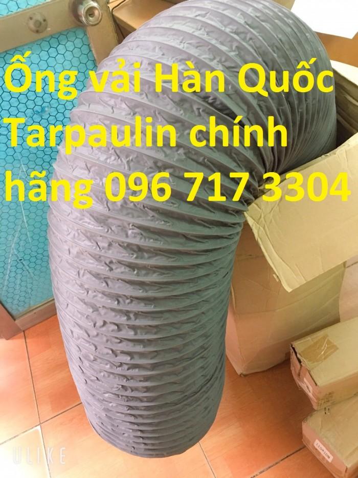 Ống gió mềm vải Tarpaulin D300*1P chất lượng cao giá rẻ8
