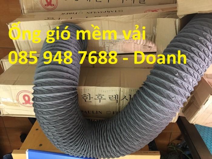 Ống gió mềm vải Tarpaulin D300*1P chất lượng cao giá rẻ6