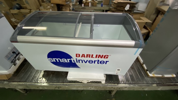Tủ đông Darling Smart Inverter DMF-6079ASKI 520 lít đồng trữ kem0