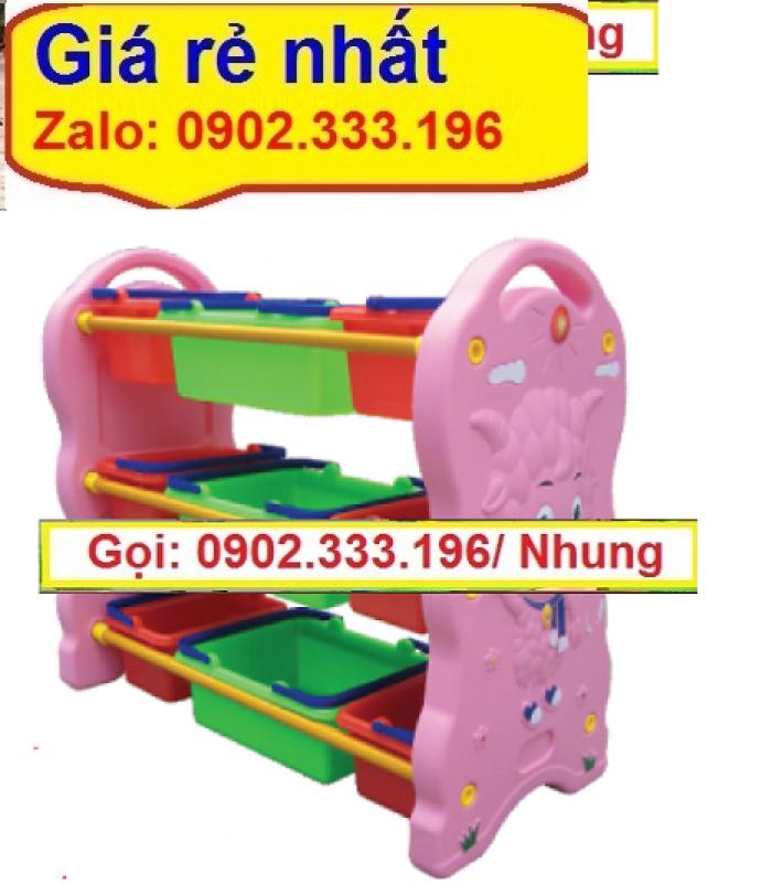 Chuyên cung cấp kệ montessori, kệ để đồ chơi mầm non