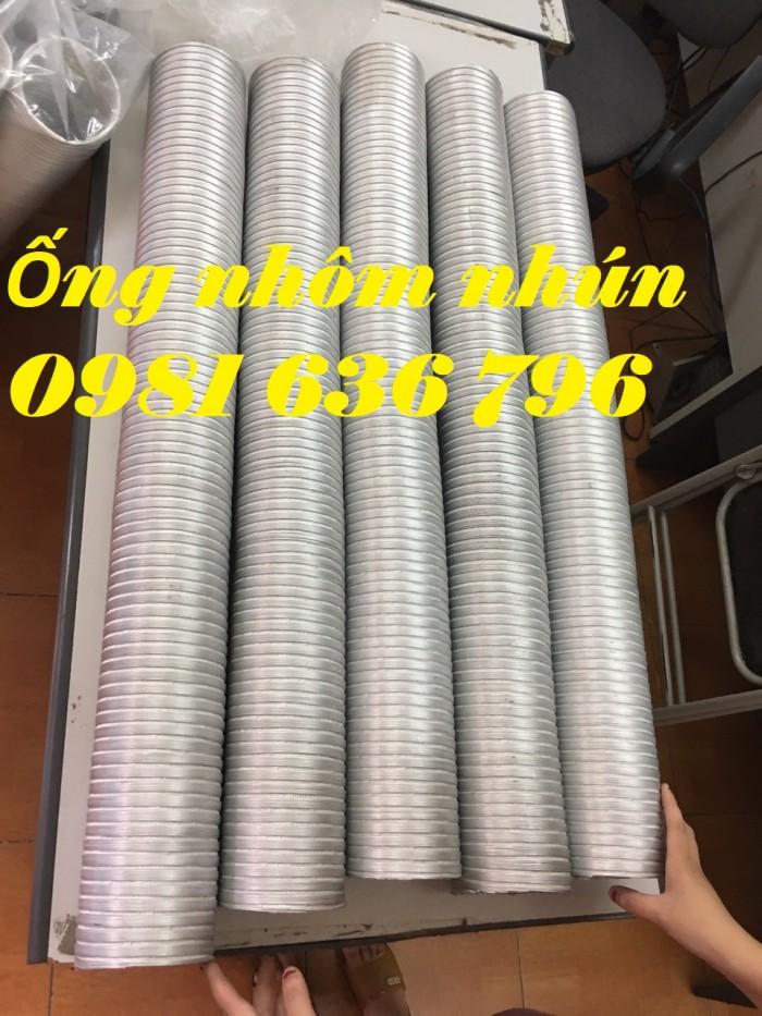 Báo giá ống nhôm nhún D100 , D125, D150.