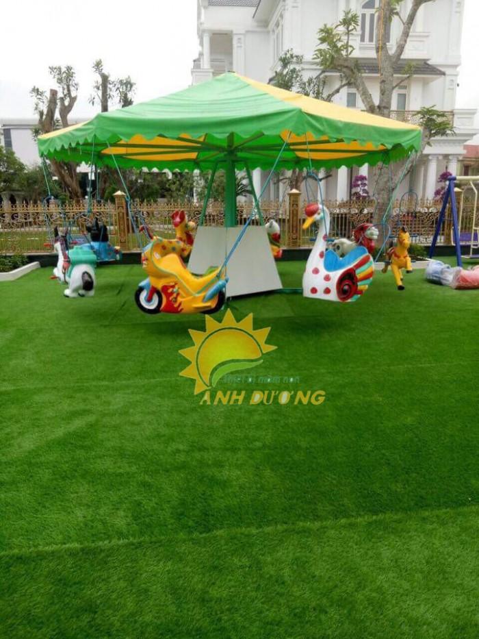 Nhận thi công thảm cỏ nhân tạo xanh tươi giá rẻ, uy tín, chất lượng nhất5