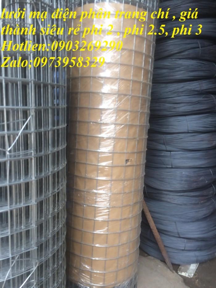 lưới hàn mạ kẽm D2.7 ( 50*50), ( 35*35) hàng rào trang chí , lưới chống côn trùng 1