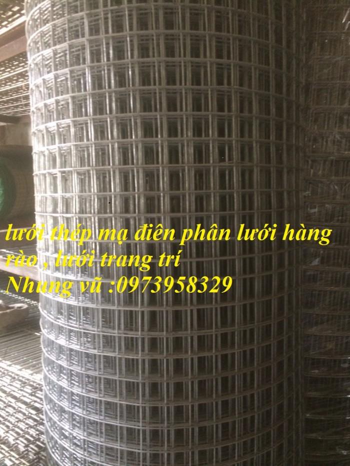 Bán sản phẩm lưới thép mạ điện phân D2, D2.2, D2.5, D2.7, D3 , D43
