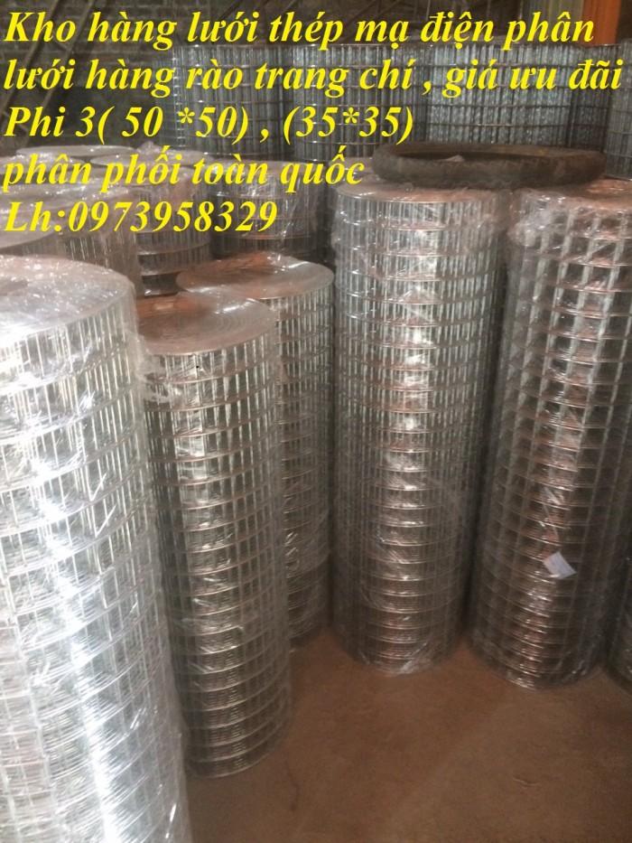 Bán sản phẩm lưới thép mạ điện phân D2, D2.2, D2.5, D2.7, D3 , D44