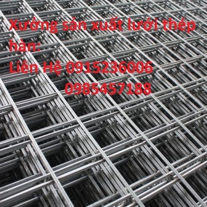Nơi sản xuất lưới thép hàn D6, D8 Đổ sàn, Đổ bê tông0
