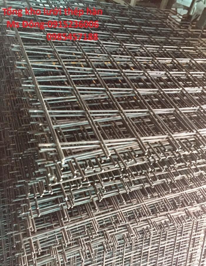 Nơi sản xuất lưới thép hàn D6, D8 Đổ sàn, Đổ bê tông4