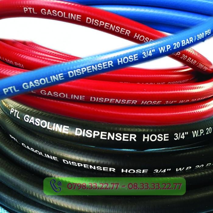 Ống dây PTL GASOLINE có đủ 3 màu khách hàng dễ dàng chọn lựa0