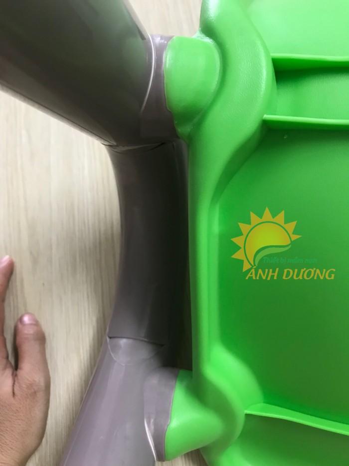 Cung cấp sỉ - lẻ ghế nhựa đúc có tay vịn dành cho trẻ nhỏ mầm non5