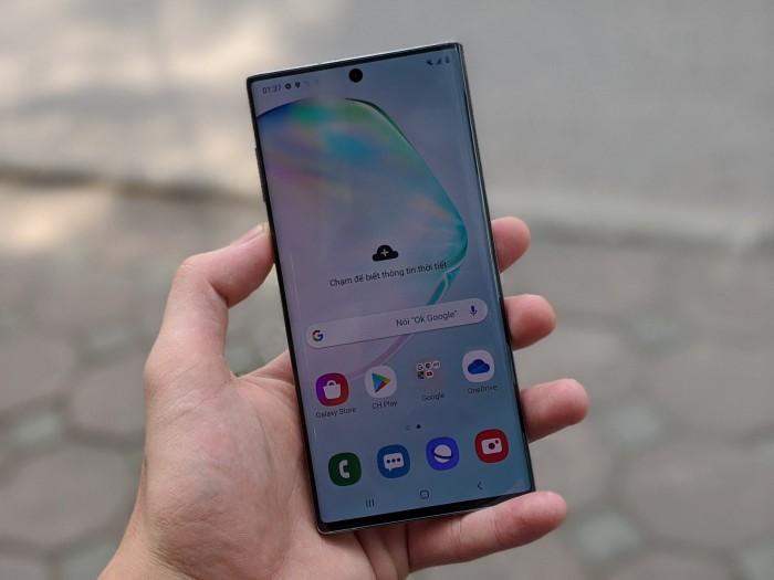 Điện thoại Samsung Galaxy Note 10 Bản Mỹ Mới 100%    Kèm đủ phụ kiện0