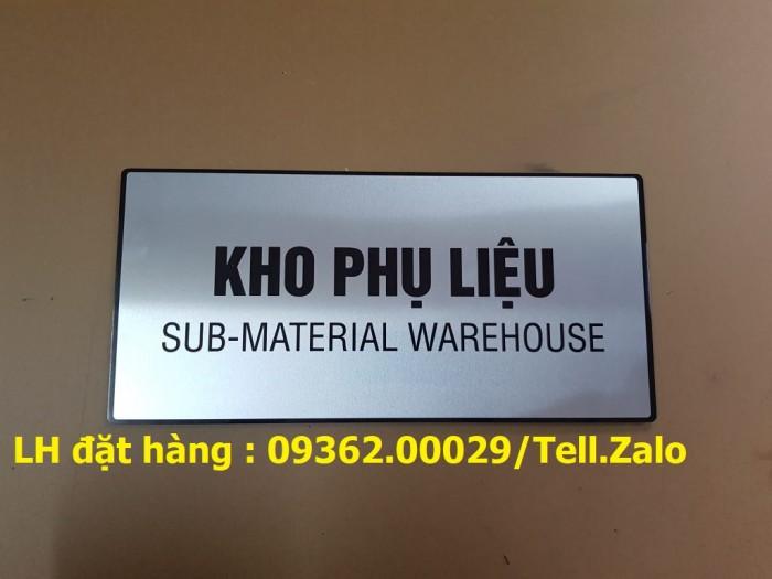 Xưởng gia công biển phòng ban mica, inox tại Hà Nội, lắp đặt giao hàng tận nơ1