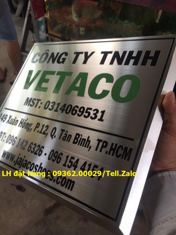 Xưởng gia công biển phòng ban mica, inox tại Hà Nội, lắp đặt giao hàng tận nơ6