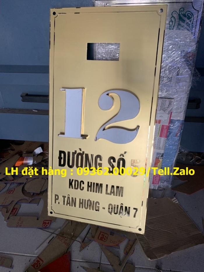Xưởng gia công biển phòng ban mica, inox tại Hà Nội, lắp đặt giao hàng tận nơ10