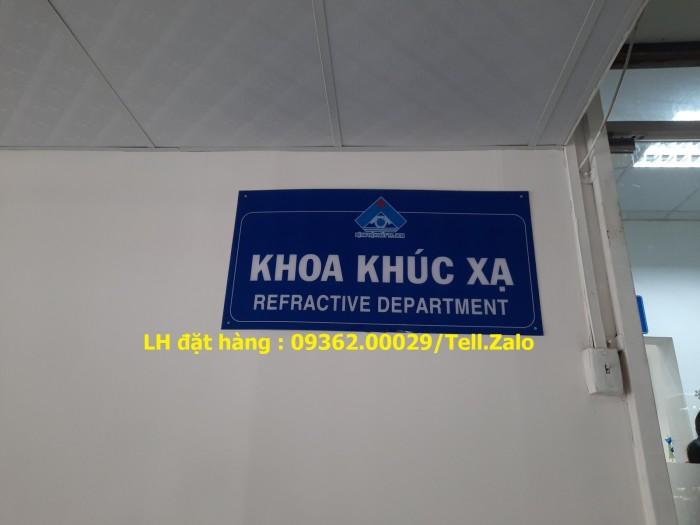 Xưởng gia công biển phòng ban mica, inox tại Hà Nội, lắp đặt giao hàng tận nơ8
