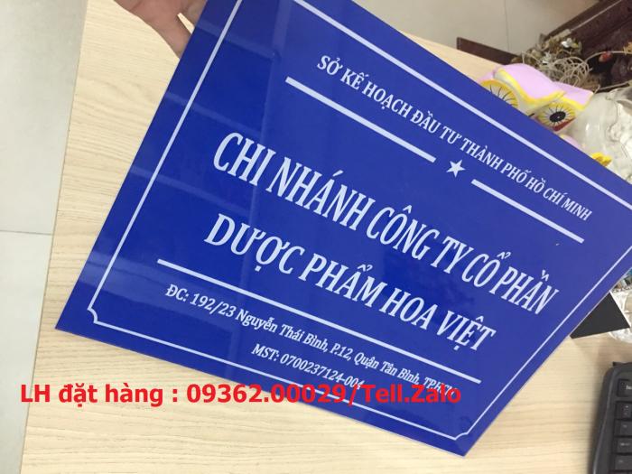 Xưởng gia công biển phòng ban mica, inox tại Hà Nội, lắp đặt giao hàng tận nơ11