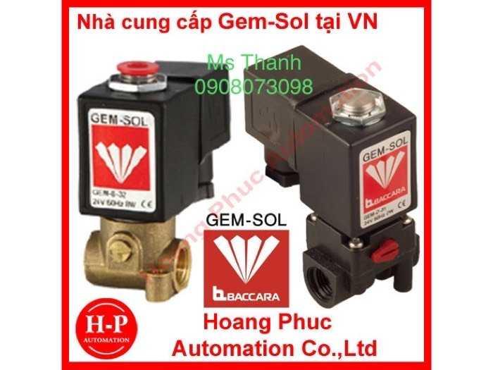 Đại lý thiết bị đo van BACCARA Gem-Sol  phân phối tại Việt Nam0