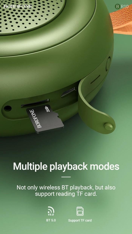 Loa bluetooth Borofone BR 10 chính hãng hỗ trợ thẻ nhớ,usb,FM5
