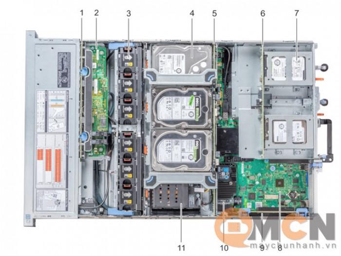Máy Chủ Dell PowerEdge R740XD Intel Xeon Silver 4210R LFF HDD 3.5inch