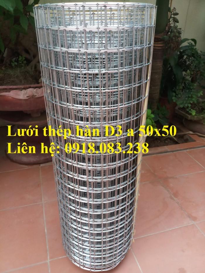 Sản xuất lưới thép hàn D3 a 50x50 dạng cuộn khổ 1m, 1.2m, 1.5m0