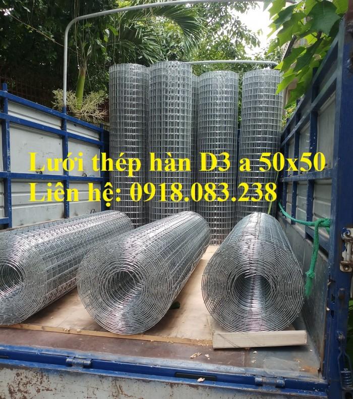 Sản xuất lưới thép hàn D3 a 50x50 dạng cuộn khổ 1m, 1.2m, 1.5m2