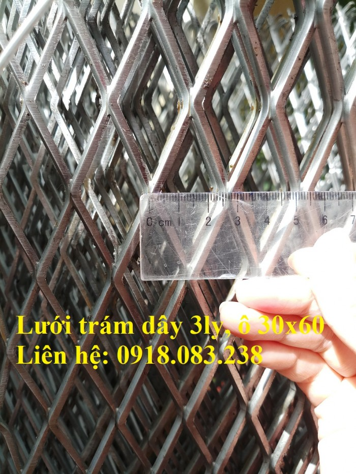 Cung cấp lưới trám dây 3ly 30x60. Khổ 1m, 1.2m/ cuộn0