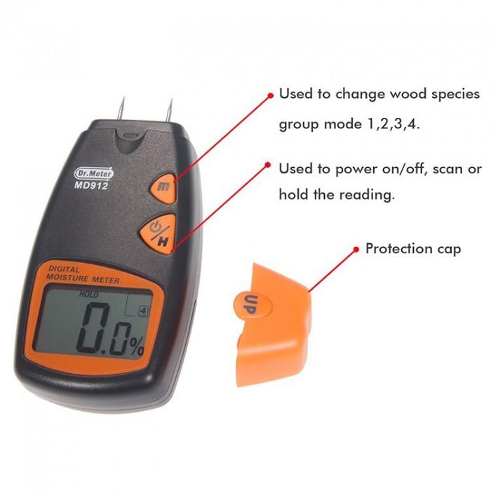 Máy đo độ ẩm gỗ MD 912
