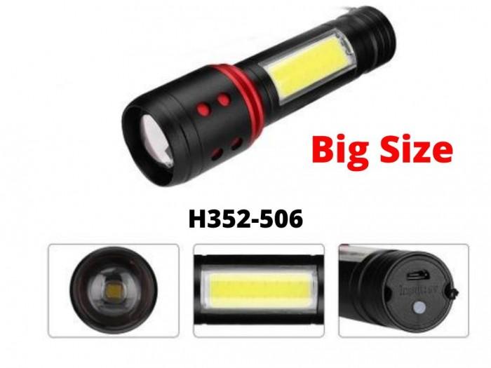 Đèn pin siêu sáng Đèn Pin Cao Cấp H352-506/H3526