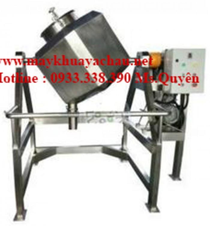 Máy trộn bột công nghiệp hình lập phương 50 kg 0