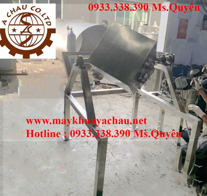 Máy trộn bột công nghiệp hình lập phương 50 kg 1