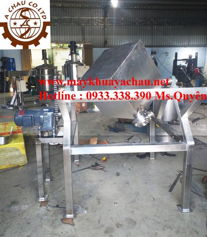 Máy trộn bột công nghiệp hình lập phương 50 kg 2