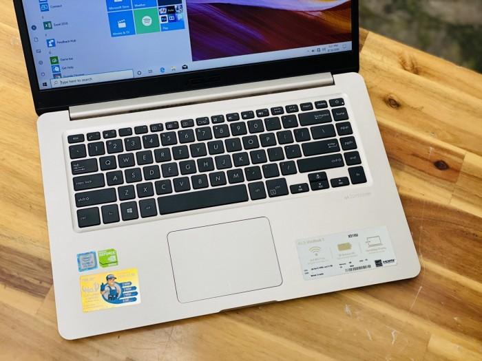 Laptop Asus Vivobook X510UQ/ i5 8250U/ SSD128+500G/ Vga 940MX/ Viền Mỏng/ Giá1