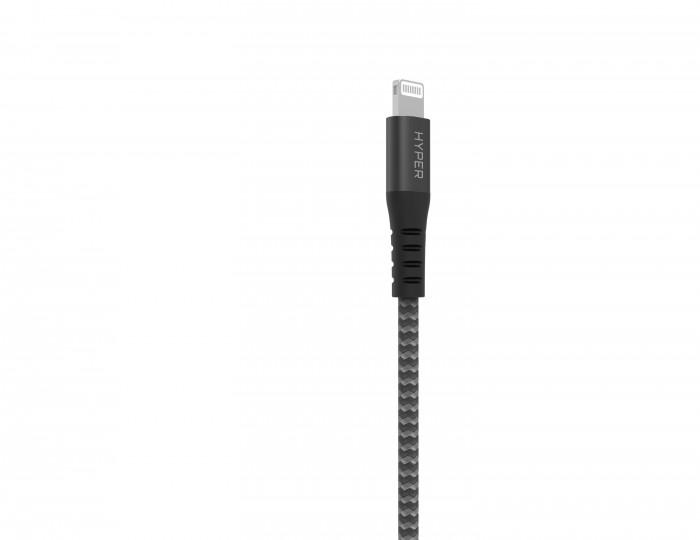 Cáp MFi To Lightning 18W HyperDrive Tough 2M For Iphone/Ipad - MSN181510