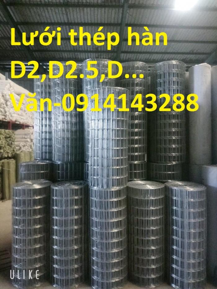 Lưới thép hàn mạ kẽm D2, D2.5, D3, D4,.... giá sản xuất chất lượng cao2
