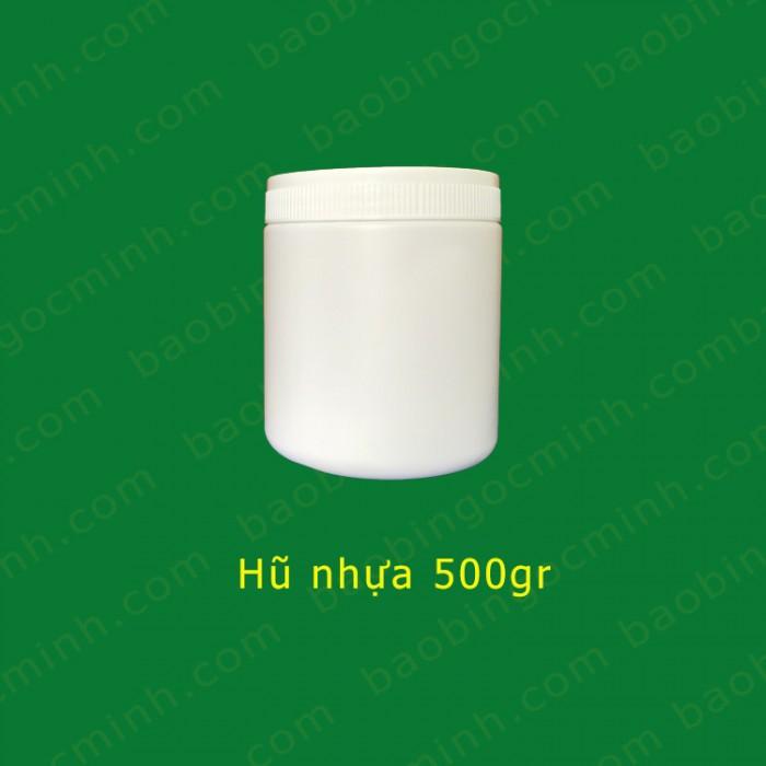 Hủ nhựa 500gr 2 ngấn đựng bột, Hủ nhựa 1kg, Muỗng nhựa.10
