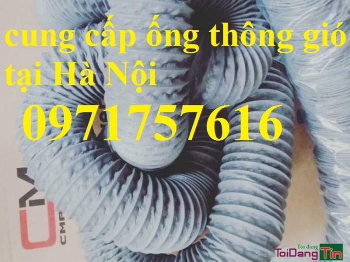 Đại lý bán sỉ bán lẻ ống gió mềm vải có lõi thép ,ống gió simili1
