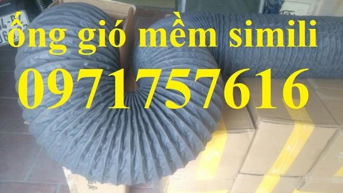Đại lý bán sỉ bán lẻ ống gió mềm vải có lõi thép ,ống gió simili2