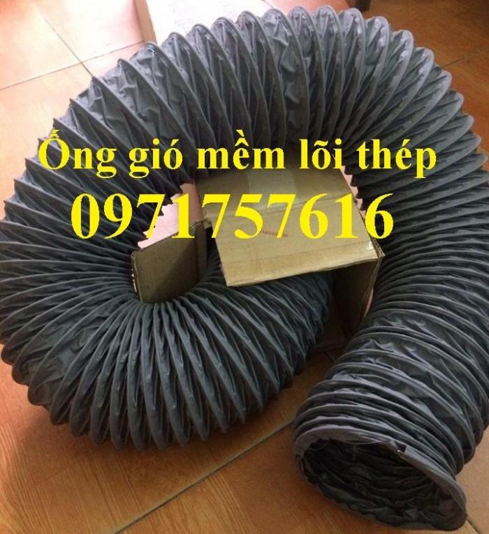 Đại lý bán sỉ bán lẻ ống gió mềm vải có lõi thép ,ống gió simili4