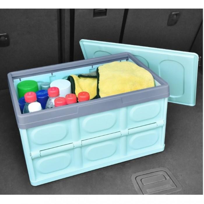 Thùng Đựng Gấp Gọn Để Xe Ô Tô Loại 1 Nhựa Dày 30L - MSN181518