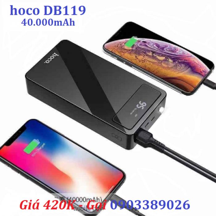 Pin sạc dự phòng HOCO DB119 dung lượng lớn đến 40.000mAh hàng chính hãng giá rẻ