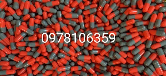 10.000 vỏ nhộng màu trong suốt, vỏ nang cứng, vỏ con nhộng rôngx1
