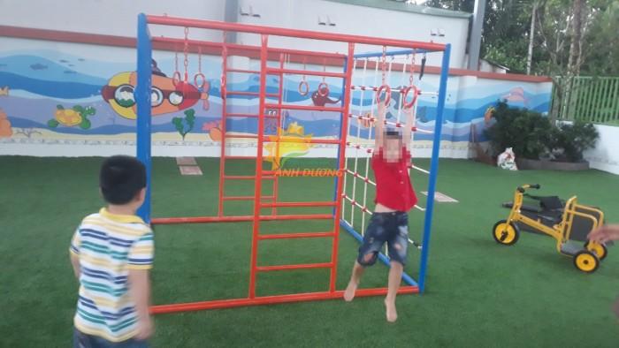 Chuyên cung cấp thang leo vận động thể chất dành cho trẻ em mầm non0