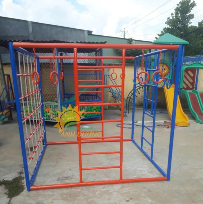 Chuyên cung cấp thang leo vận động thể chất dành cho trẻ em mầm non1